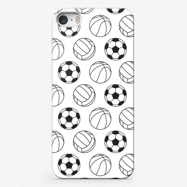 Чехол iPhone «Спортивный паттерн»