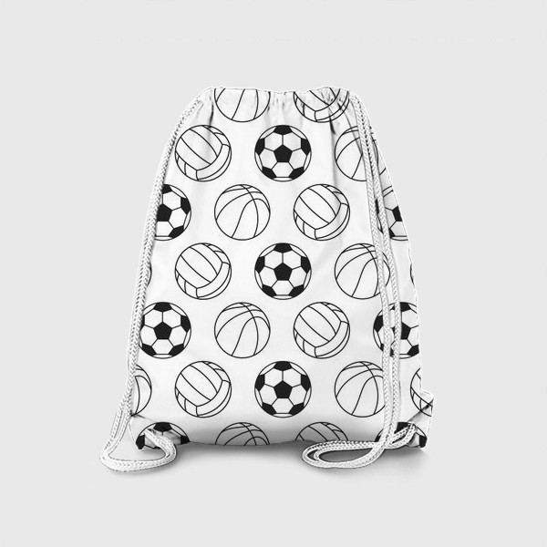 Рюкзак «Спортивный паттерн»