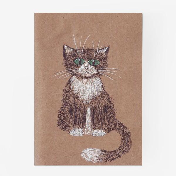 Постер «кот крафт»