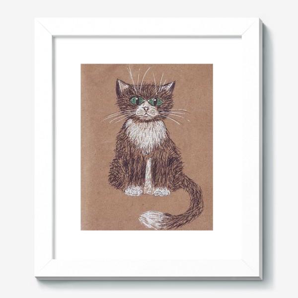 Картина «кот крафт»