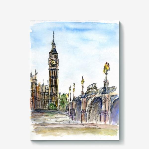 Холст «Лондон»