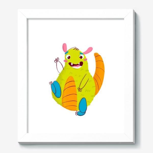 Картина «Hello, cute monster!»