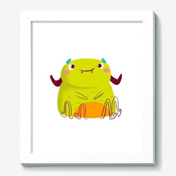 Картина «kawaii green monster»