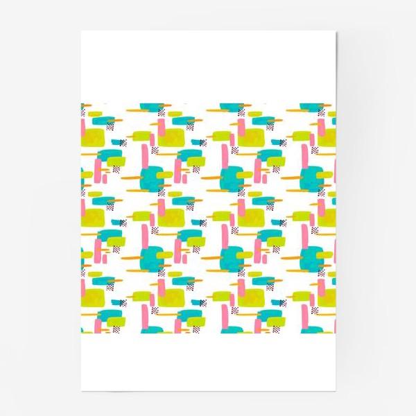 Постер «retro pattern»
