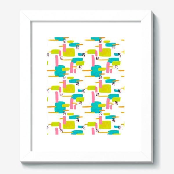 Картина «retro pattern»
