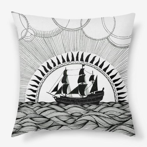 Подушка «Корабль»