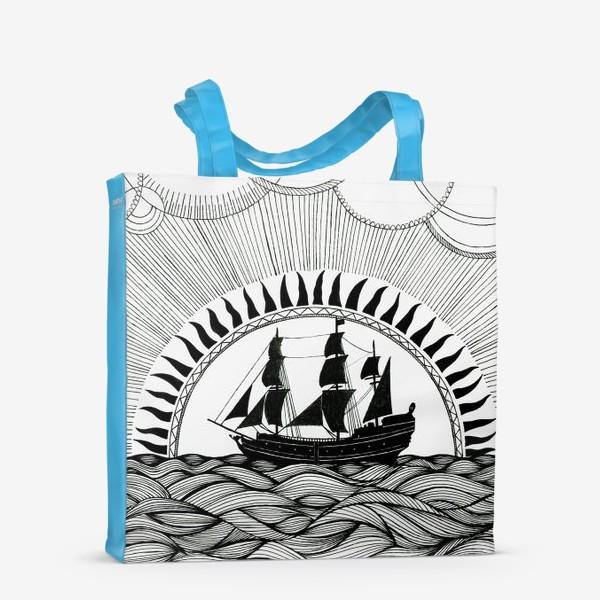 Сумка-шоппер «Корабль»