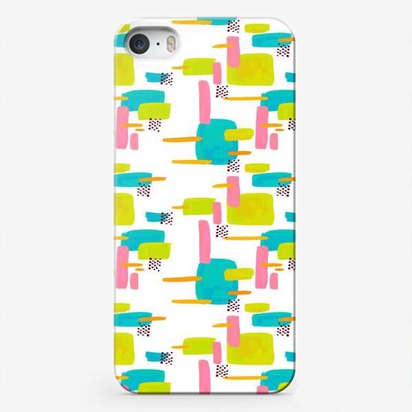 Чехол iPhone «retro pattern»