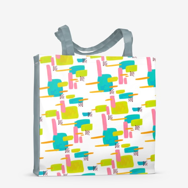 Сумка-шоппер «retro pattern»