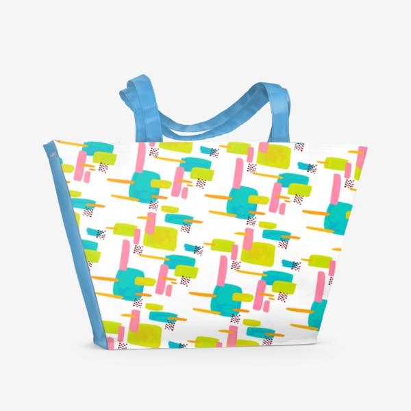 Пляжная сумка «retro pattern»