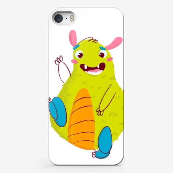 Чехол iPhone «Hello, cute monster!»