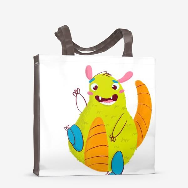 Сумка-шоппер «Hello, cute monster!»