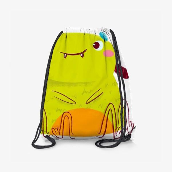 Рюкзак «kawaii green monster»