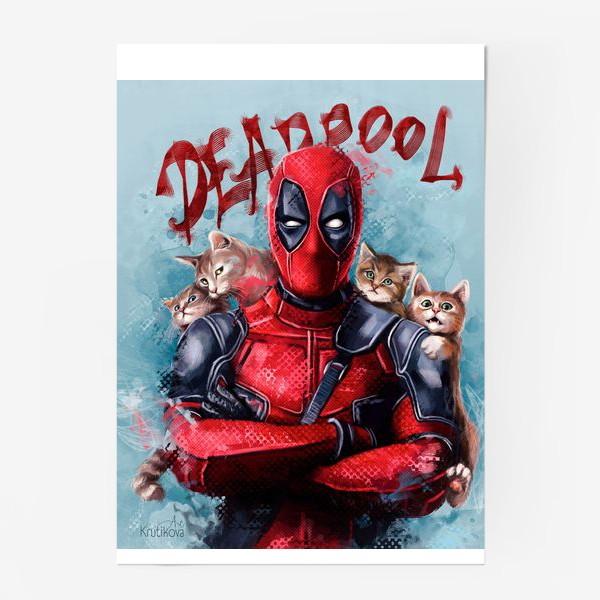 Постер «deadpool»