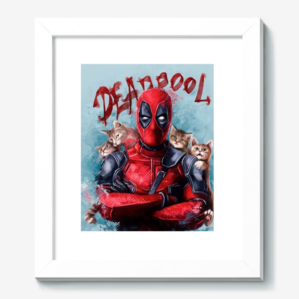 Картина «deadpool»