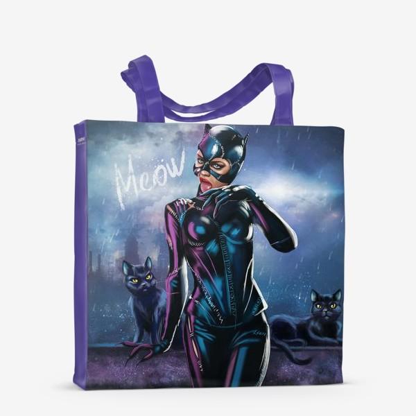 Сумка-шоппер «Cat Woman»