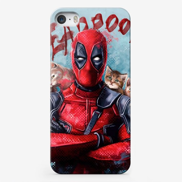 Чехол iPhone «deadpool»