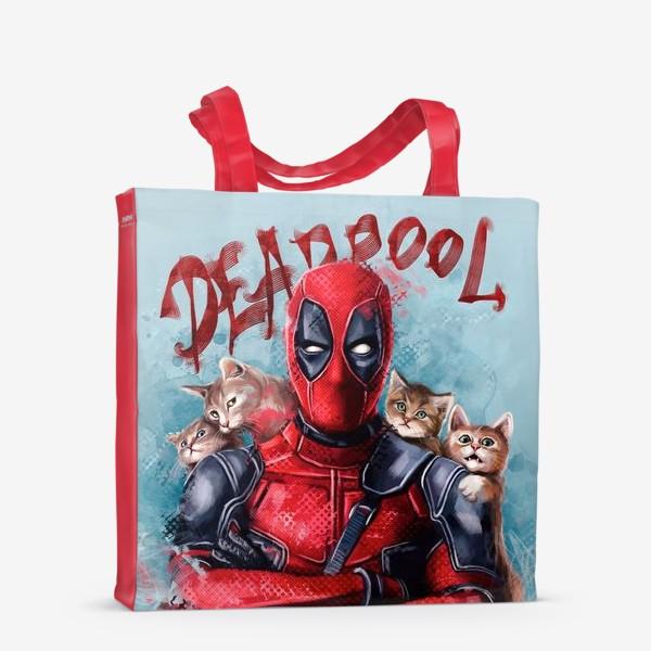 Сумка-шоппер «deadpool»