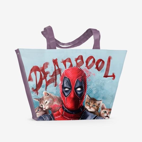 Пляжная сумка «deadpool»