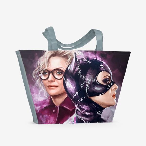 Пляжная сумка «Catwoman»