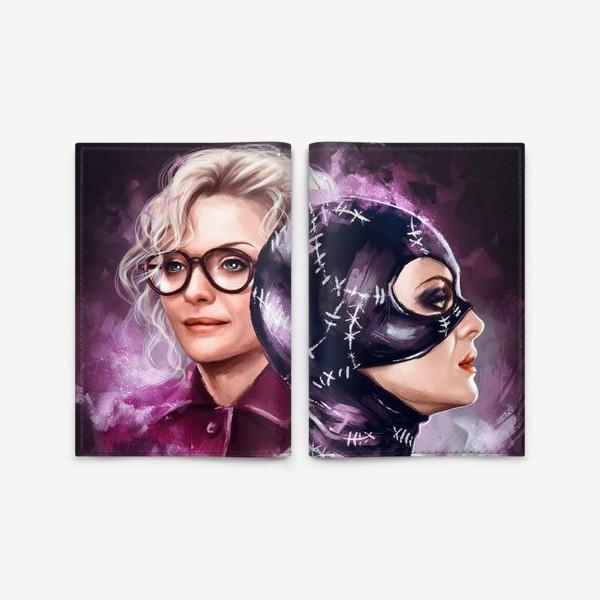 Обложка для паспорта «Catwoman»