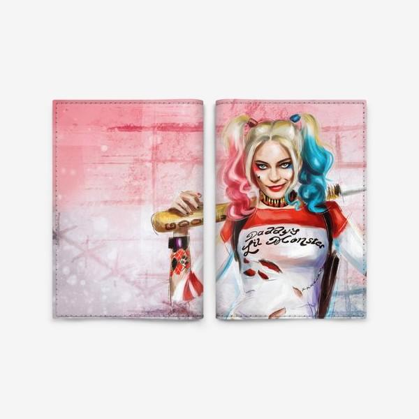 Обложка для паспорта «Harley»