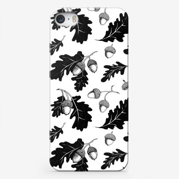 Чехол iPhone «Жёлуди»