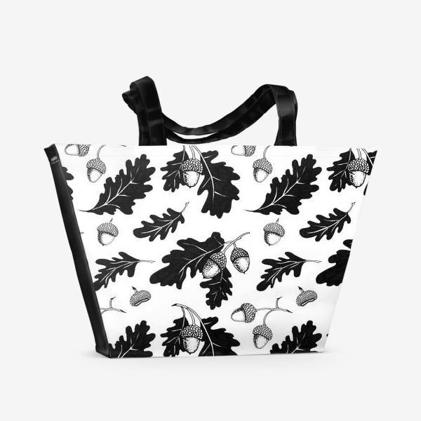 Пляжная сумка «Жёлуди»