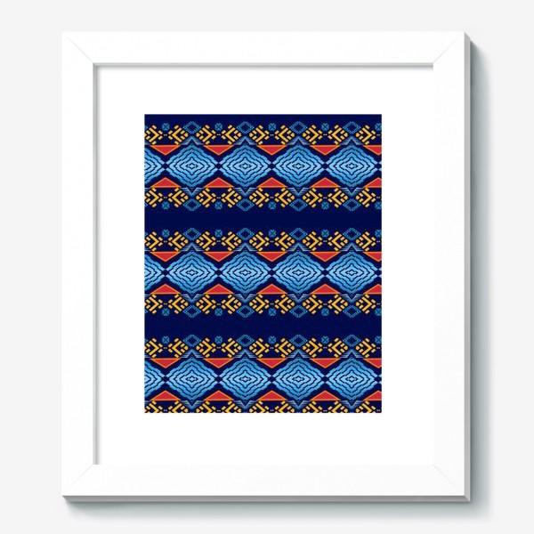 Картина «Этнический геометрический паттерн»