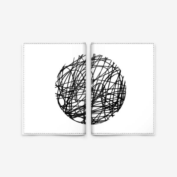 Обложка для паспорта «Хаос графика»