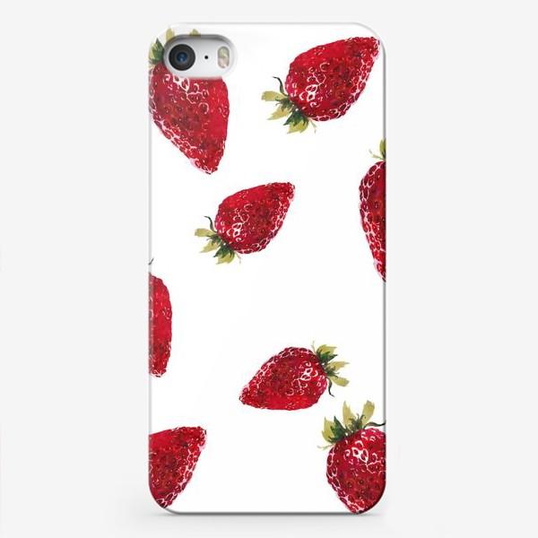 Чехол iPhone «Клубнички»