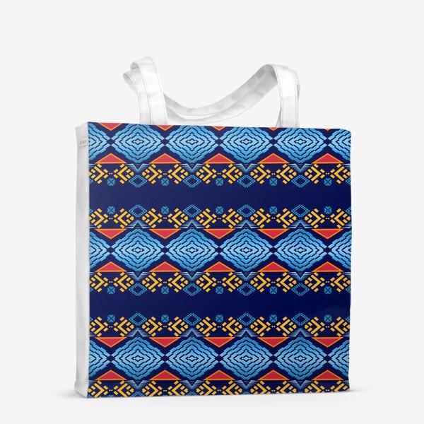 Сумка-шоппер «Этнический геометрический паттерн»