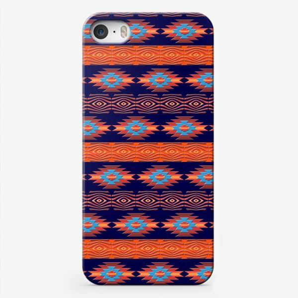 Чехол iPhone «Этнический геометрический паттерн»
