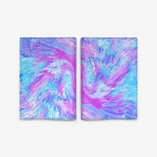Обложка для паспорта «Разноцветная фантазия»