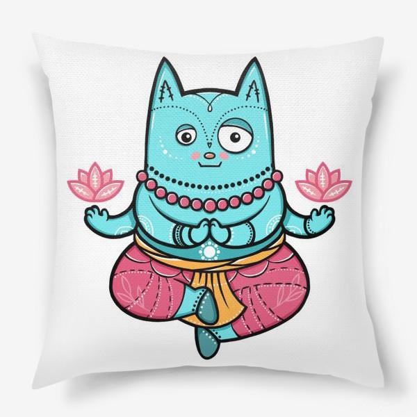 Подушка «Шива Кот»