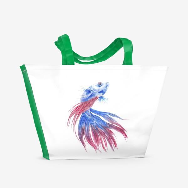 Пляжная сумка «Рыба»