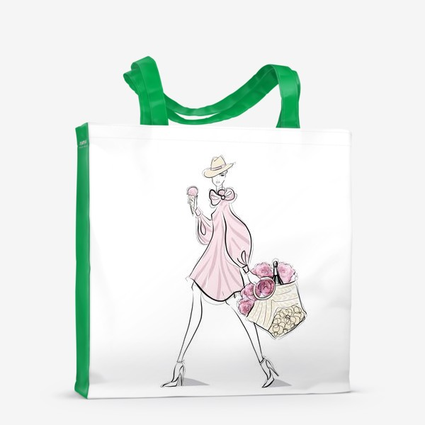 Сумка-шоппер «летняя прогулка»