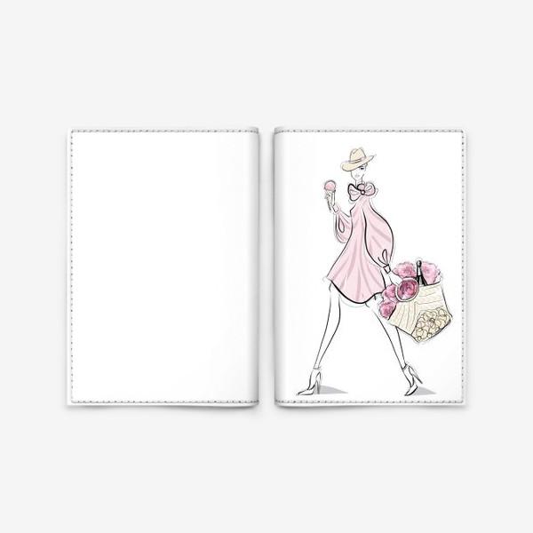 Обложка для паспорта «летняя прогулка»
