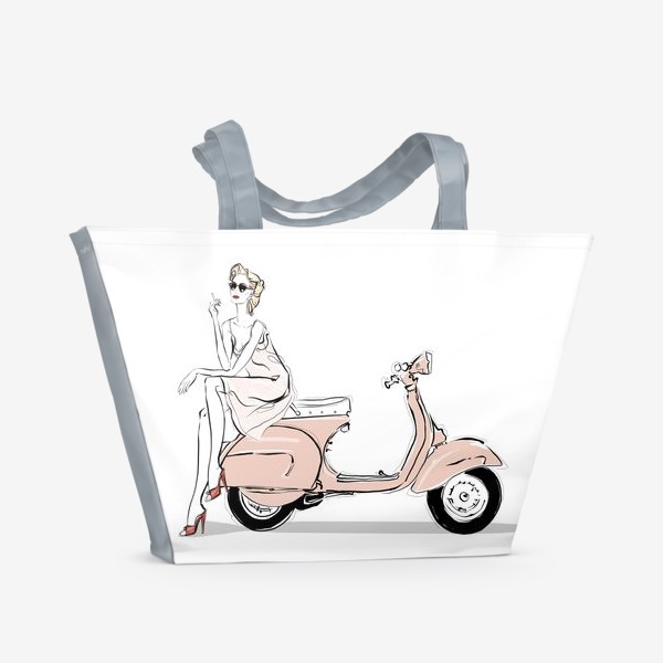 Пляжная сумка «Vespa»