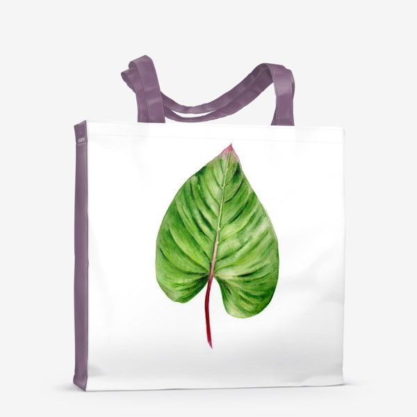 Сумка-шоппер «Зеленый лист»