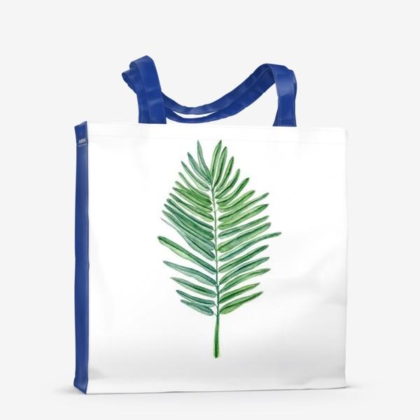 Сумка-шоппер «Пальмовый лист»
