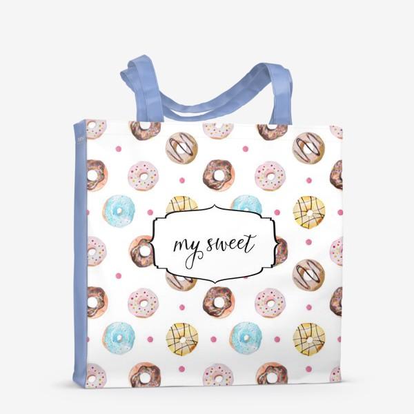 Сумка-шоппер «Мой сладкий пончик! »