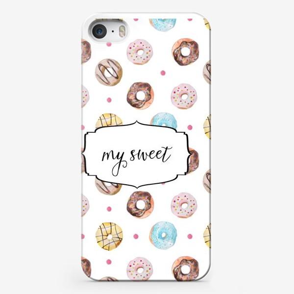 Чехол iPhone «Мой сладкий пончик! »