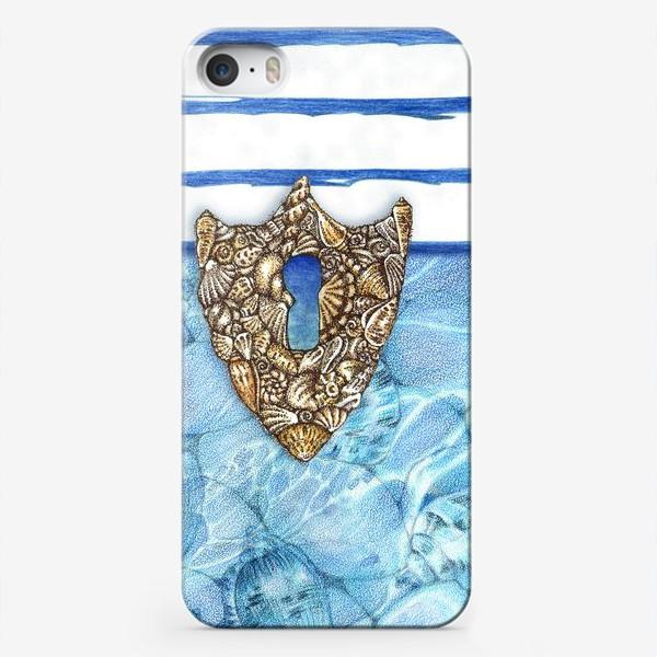 Чехол iPhone «Замочная скважина из ракушек»