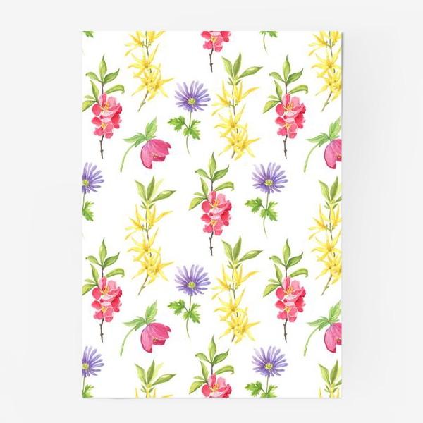 Постер «Spring wild flowers»
