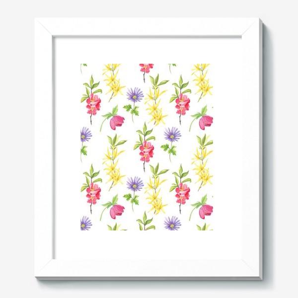 Картина «Spring wild flowers»