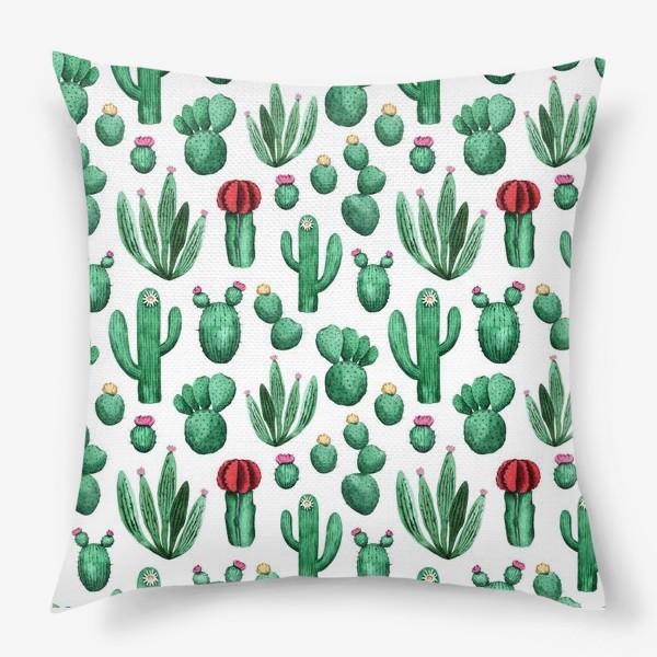 Подушка «Cacti»