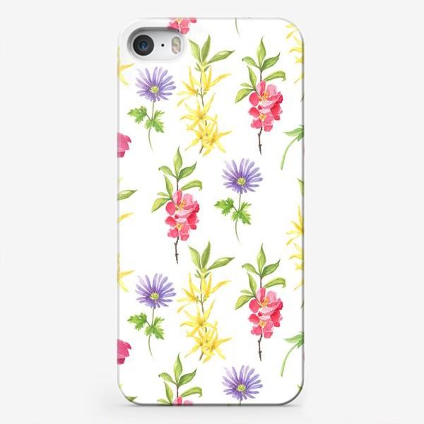 Чехол iPhone «Spring wild flowers»