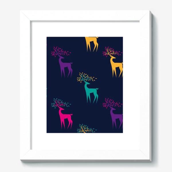 Картина «Яркие олени»