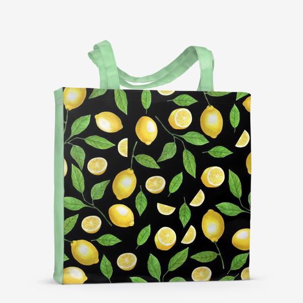 Сумка-шоппер «Лимоны»